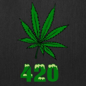 420 POT MARIJUANNA WEED LEAF - Tote Bag