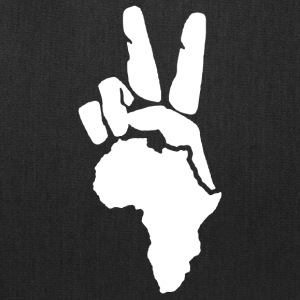 Peace To Africa - Tote Bag