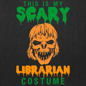 Halloween This My Scary Librarian Costume - Tote Bag