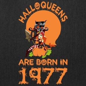 Halloqueens Are Born In 1977 Halloween - Tote Bag