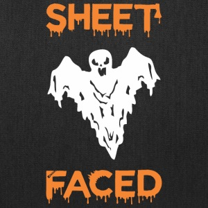 Sheet Faced Boo Halloween - Tote Bag