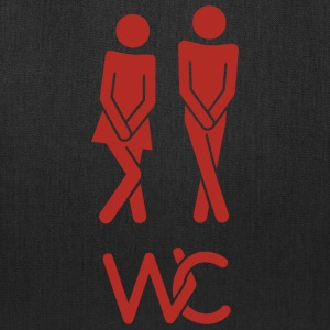 Real toilet sign - Tote Bag