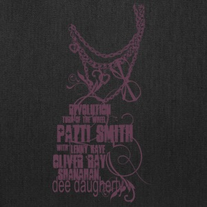 Patti Smith with Lenny Kaye - Tote Bag