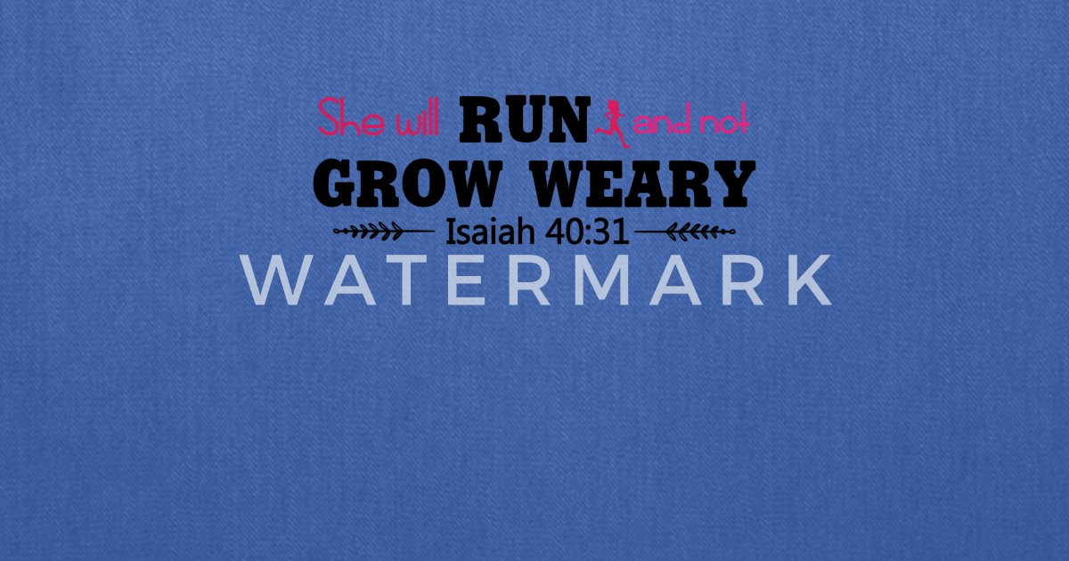 she will run and not grow weary tee shirt by createdtees spreadshirt