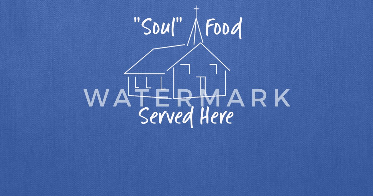 Religious Quotes Soul Food Served Here Tote Bag Spreadshirt
