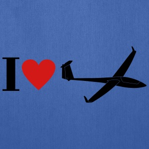 i love gliding - Tote Bag