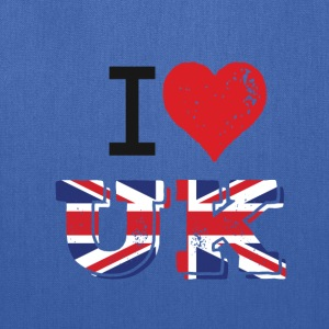 I Love UK - Tote Bag