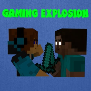 Gaming Explosion Herobrine vs Smooth__YT - Tote Bag