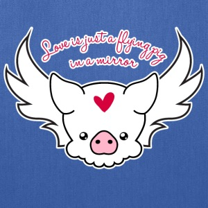 Love Is A Flying Pig - Tote Bag