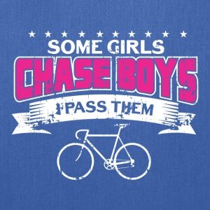 SOME GIRLS CHASE BOYS - Tote Bag