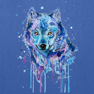 GIFT - COLORFUL WOLF - Tote Bag