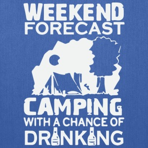 WEEKEND FORECAST CAMPING - Tote Bag