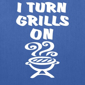 I Turn Grills On - Tote Bag
