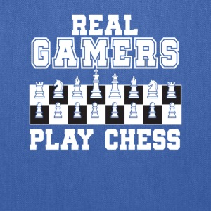 Real Gamers Play Chess Chess Gamer Gifts - Tote Bag