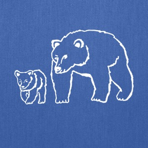 Mama and Me Bear shirt - Funny shirt for Mom - Tote Bag