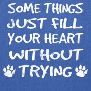 Just things just fill your heart - dog shirt - Tote Bag