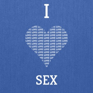 I LOVE SEX GIFT - Tote Bag