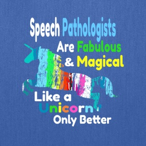 Speech Pathologists - Tote Bag