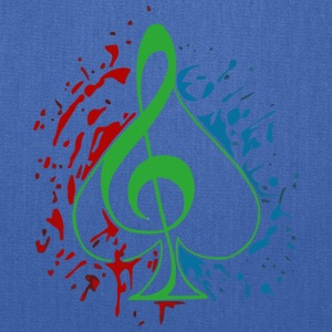 Treble clef - Tote Bag