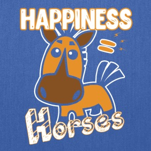 Horses Happiness T-shirt - Tote Bag