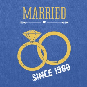 Married since 1980 - Tote Bag