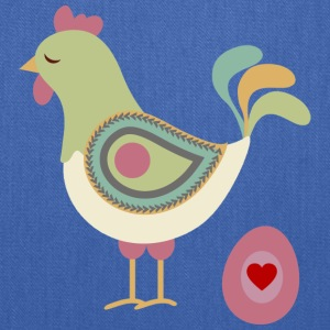 Hen with egg - Tote Bag