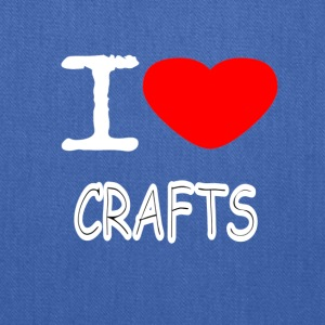 I LOVE CRAFTS - Tote Bag