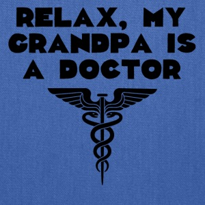 Relax My Grandpa Is A Doctor - Tote Bag