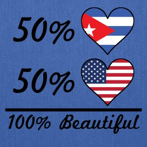 50% Cuban 50% American 100% Beautiful - Tote Bag