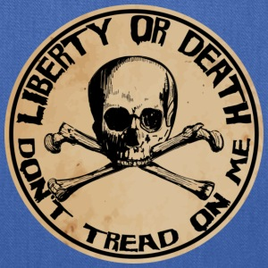 Liberty or Death Dont Tread On Me - Tote Bag
