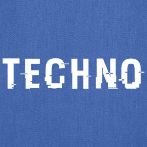 Techno Hacked White - Tote Bag