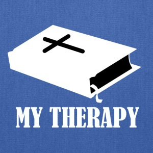 Reading the Bible is my therapy - Tote Bag