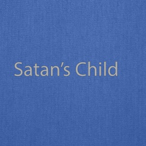 Satan's Child text - Tote Bag