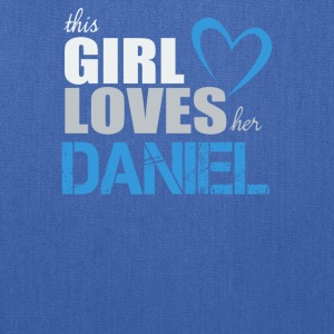 This Girls Loves Her Daniel - Tote Bag
