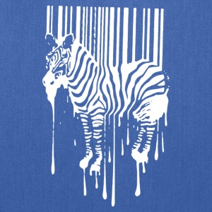 Banksy Street Art Zebra Bar Code - Tote Bag