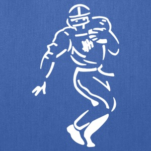 Undefeated Stencil Football - Tote Bag