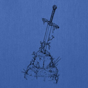 Sword in a Stone - Tote Bag
