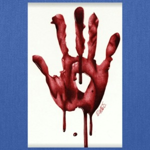 Bloody Hand - Tote Bag