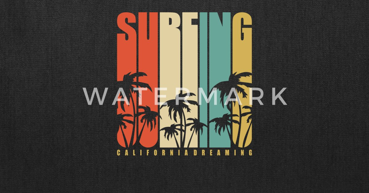 71635b71 California surf typography by SOULart   Spreadshirt