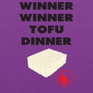 Winner Winner Tofu Dinner - Tote Bag