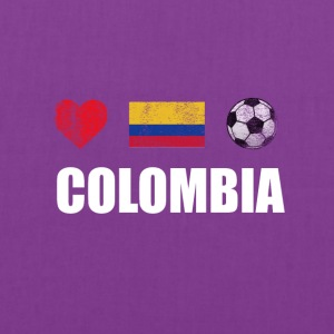 Colombia Football Colombian Soccer T-shirt - Tote Bag