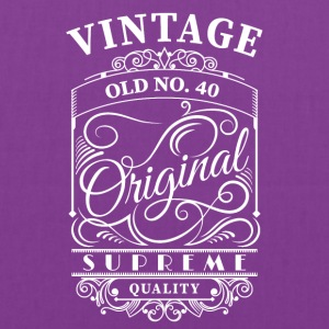 vintage old no 40 - Tote Bag