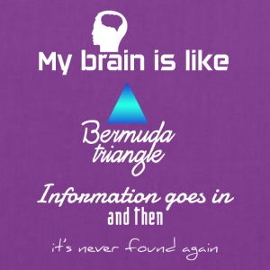 My brain is like Bermuda's - Tote Bag