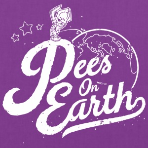 Pees-peace-On the Earth - Tote Bag