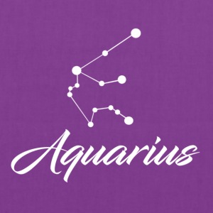 Aquarius Star sign Zodiac - Tote Bag