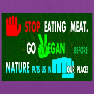STOP EATING MEAT - Tote Bag