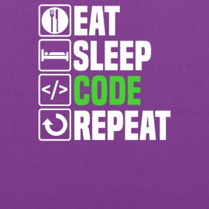 Eat Sleep Code - Tote Bag