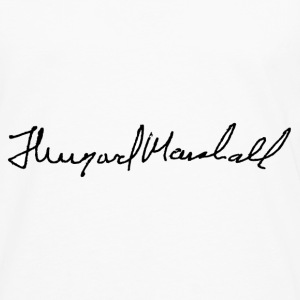 thurgood marshall signature - Men's Premium Long Sleeve T-Shirt