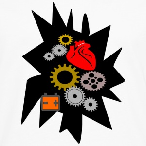 heart mechanics - Men's Premium Long Sleeve T-Shirt