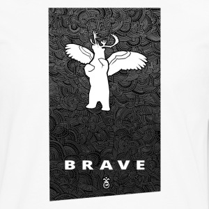 Banner BRAVE - Men's Premium Long Sleeve T-Shirt